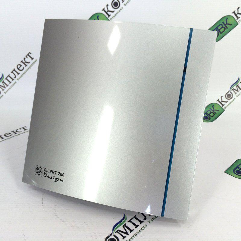 Вытяжной вентилятор Soler & Palau SILENT-300 CRZ Silver