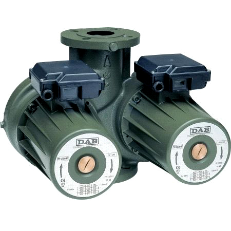 Сдвоенный циркуляционный насос DAB DPH 150/340.65 T