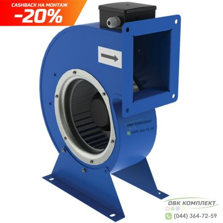 Центробежный вентилятор ВЕНТС ВЦУ 2Е 160х62