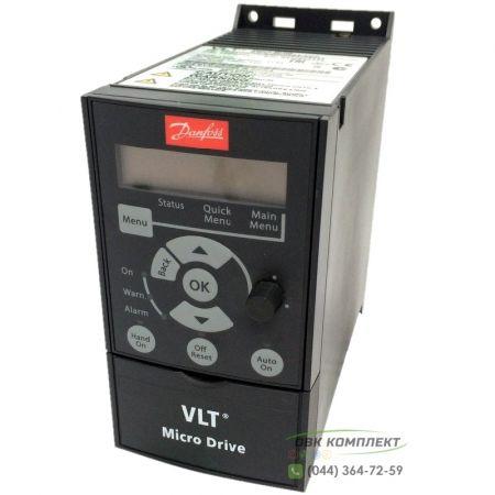 132F0002 Danfoss VLT Micro Drive FC 51 0,37 кВт/1ф - Частотный преобразователь