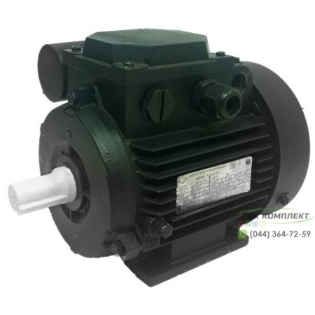 Однофазный электродвигатель АИРЕ 71 В4 (АИРЕ71В4) 0,55 кВт 1500 об/мин