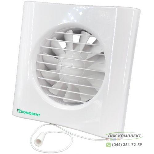 Вентилятор Домовент 125 Тиша В