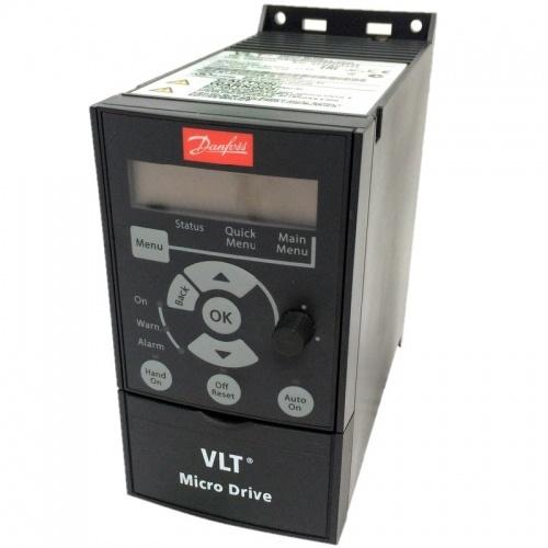 132F0001 Danfoss VLT Micro Drive FC 51 0,18 кВт/1ф - Частотный преобразователь