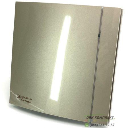 Вытяжной вентилятор Soler&Palau SILENT-200 CZ CHAMPAGNE DESIGN 4C