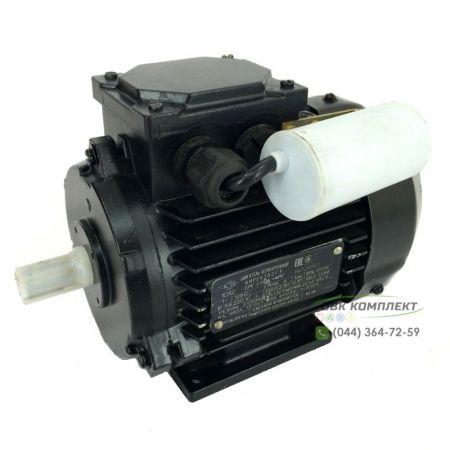 Однофазный электродвигатель АИРЕ 63 В2 | 0,37 кВт 3000 об/мин