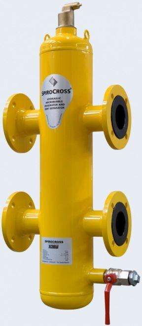 Гидравлическая стрелка SpiroCross DN100 (под приварку - сталь)