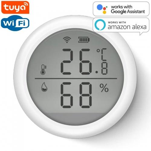 SMART Wi-Fi Датчик температуры и влажности AVATTO