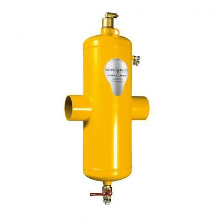 Сепаратор воздуха и шлама SpiroCombi Air & Dirt DN50 (под приварку - сталь)