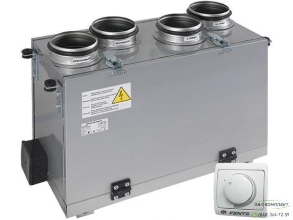 ВЕНТС ВУТ 300 В мини - приточно-вытяжная установка с рекуператором