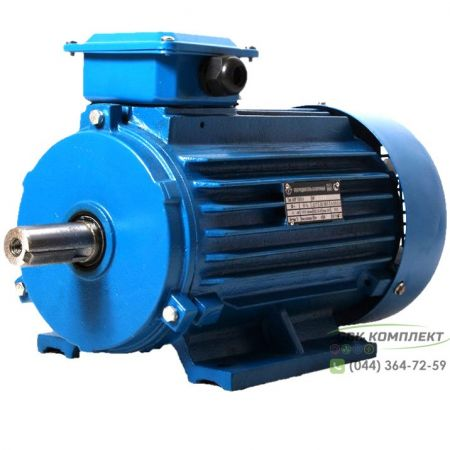 Электродвигатель АИР 90 LA8 (3-фазы) | 0,75 кВт 750 об/мин