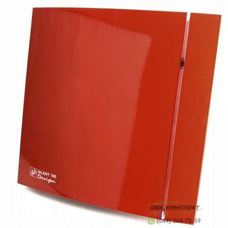 Вентилятор Soler&Palau Silent-100 CZ Red Design 4C