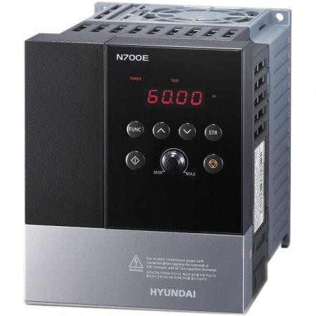 Частотный преобразователь Hyundai N700E-007HF 0,75 кВт