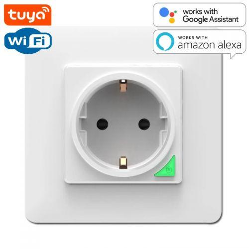 SMART Wi-Fi Розетка настенная 16A