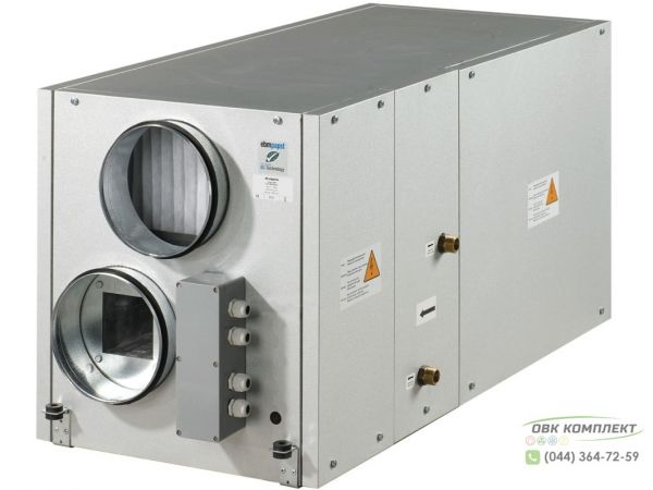 ВЕНТС ВУТ 300-2 ВГ ЕС - приточно-вытяжная установка с рекуператором