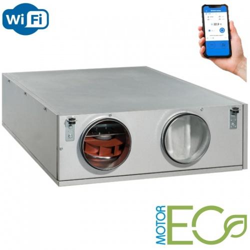 ВЕНТС ВУТ 550 ПБЭ EC А21 - приточно-вытяжная установка с рекуператором и Wi-Fi