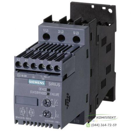 Устройство плавного пуска Siemens Sirius 3RW30 3 кВт - 3RW3014-1BB14