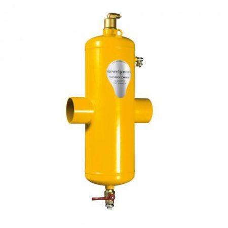 Сепаратор воздуха и шлама SpiroCombi Air & Dirt DN100 (под приварку - сталь)