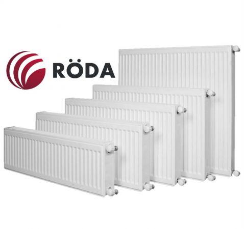 Стальной радиатор Roda 11 R тип 500х400 боковое подключение 508 Вт