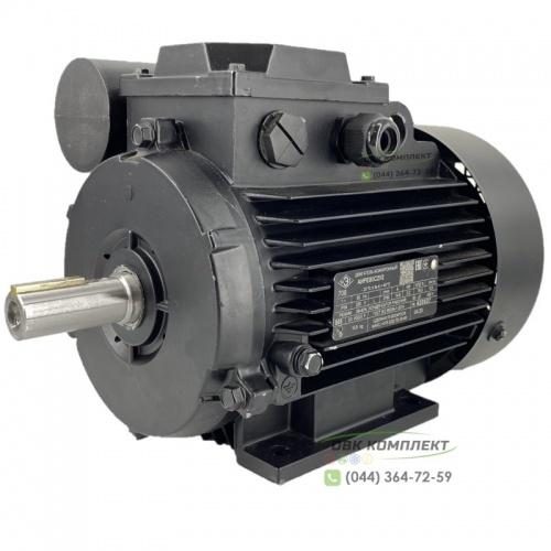 Однофазный электродвигатель АИРЕ 80 В4 | 1,1 кВт 1500 об/мин