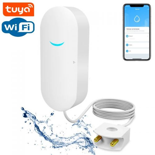 SMART Wi-Fi Датчик утечки воды Tuya