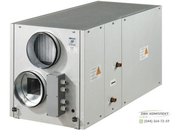 ВЕНТС ВУТ 300-1 ВГ ЕС - приточно-вытяжная установка с рекуператором