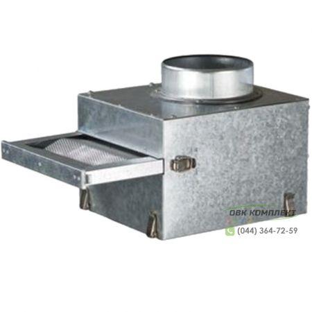 Фильтр-бокс ВЕНТС ФФК 125 для каминного вентилятора КАМ
