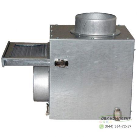 Смесительный фильтр-бокс ВЕНТС КФК 125 для каминного вентилятора КАМ