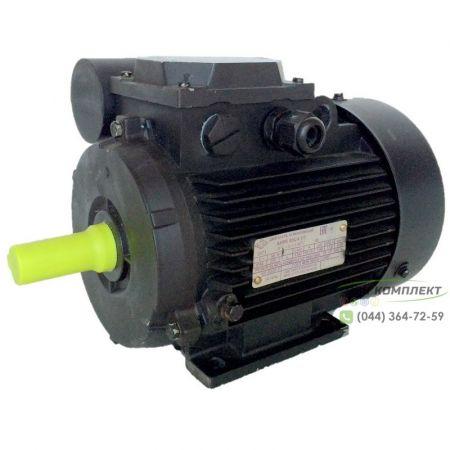 Однофазный электродвигатель АИРЕ 80 С4 (АИРЕ80С4) 1,5 кВт 1500 об/мин