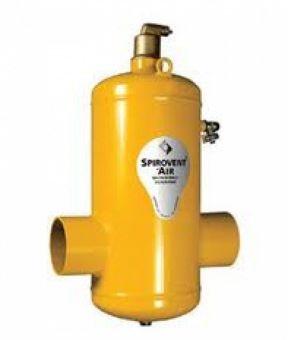 Сепаратор воздуха SpiroVent Air DN65 (под приварку - сталь)