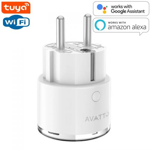 SMART Wi-Fi Розетка со счетчиком энергопотребления 16А
