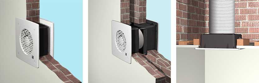 Приклад встановлення вентилятора